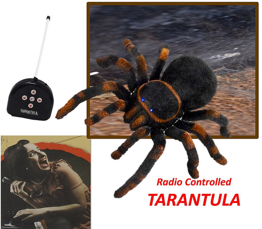 Play Kreative R/C Tarantula Spider Toy - Halloween Prank Holiday Gift - PlayKreative.com