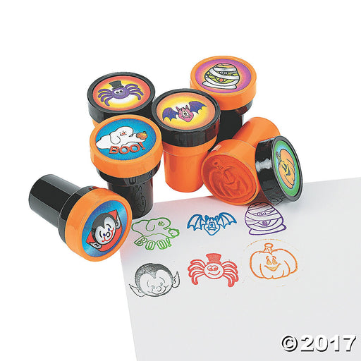 Halloween Stampers - 24 Pieces