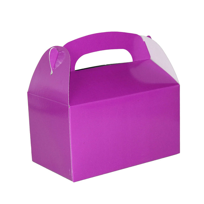 Play Kreative Purple Gable Treat Box - Pack of 12 - PlayKreative.com