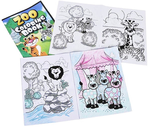 Play Kreative Zoo Coloring Book - Kids Jungle Animal Coloring Books - Children S - PlayKreative.com