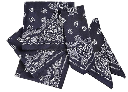 Play Kreative Navy Cowboy Western Bandana - 12 Pack - PlayKreative.com