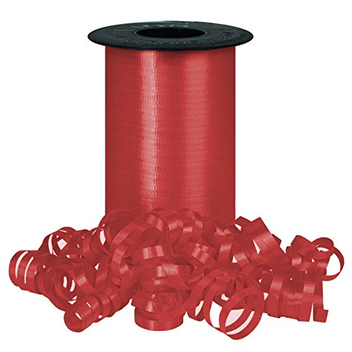 Lava Red Curling Ribbon For all Occasions - Great for Balloons, Gifts, Decoratin
