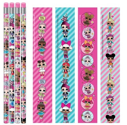 L.O.L. Surprise Pencils - Pack of 12