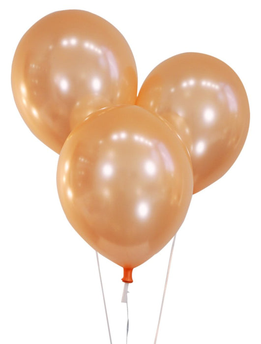 Pearlized Light Pink 12 Inch Latex Balloons - Pack of 100 Pieces