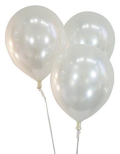 Pearlized Light Green 12 Inch Latex Balloons - Pack of 100 Pieces