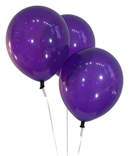Brown 12 InchLatex Balloons - Pack of 100 Pieces