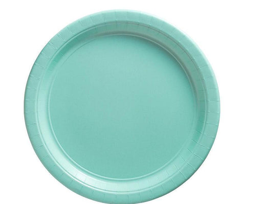 Robin's Egg Blue Lunch Plates - 7 Inch - 50 Pack