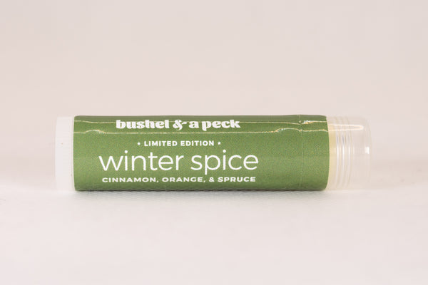 Winter Spice Lip Balm: Holiday Blend