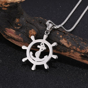 Rope Boat Anchor Pendant