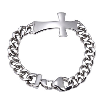 Stainless Steel Cross Bracelets