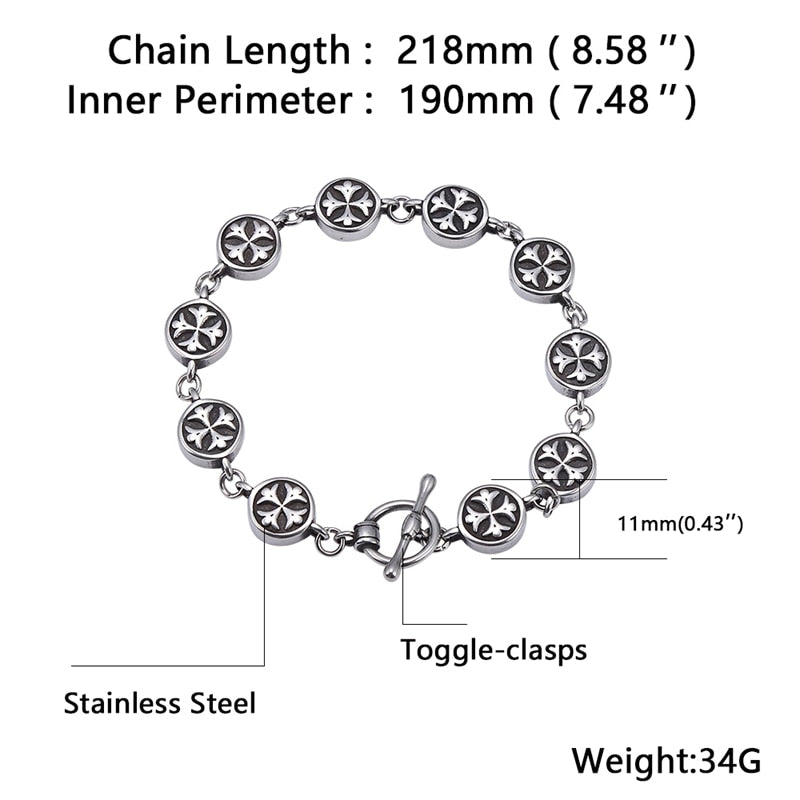 11mm Stainless Steel Bracelet