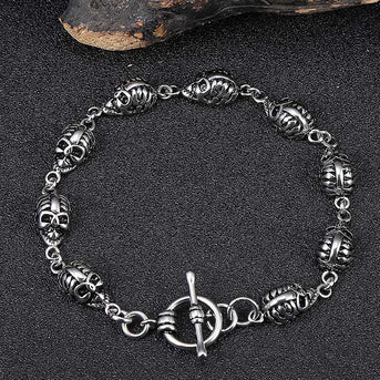 Trendy Jewelry for Men Skull Bracelets