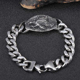 13mm Stainless Steel  Eagle Bracelets