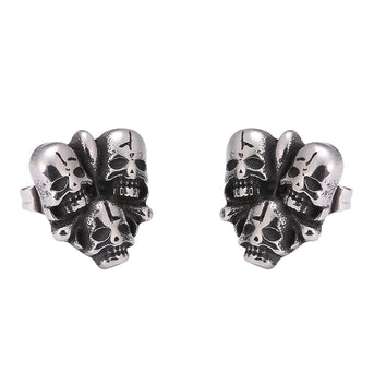 Skulls Earrings For Women