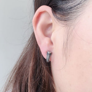 Punk Rock Snake Stud Earrings