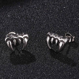 Ghost Tooth Earrings