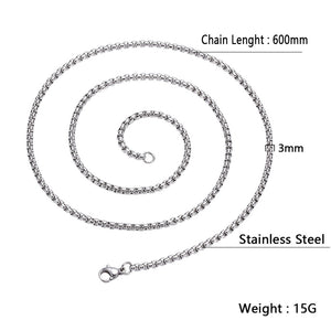 3*600mm Stainless Steel Chain