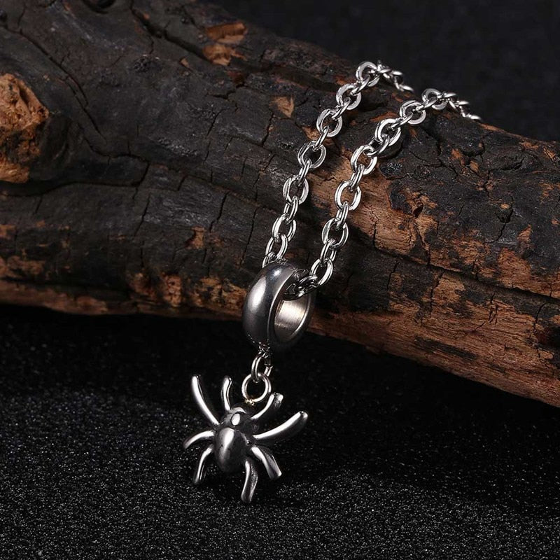 Stainless Steel Spider Pendants