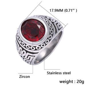 316L Stainless Steel Fashion Ring