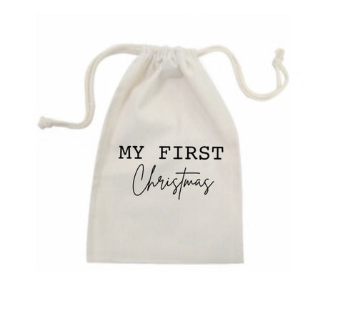 My First Christmas Bag