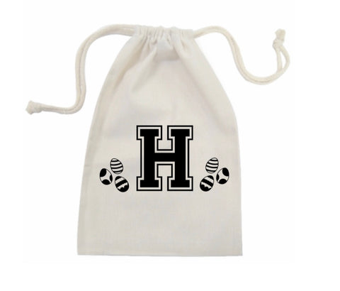 Personalised Initial Easter Bag