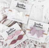 Sprinkles & Adventure Cashmere Rose Lola Bow Set
