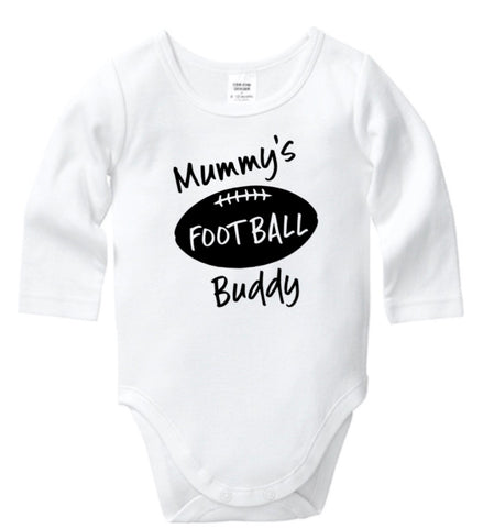 Mummy's Football Buddy Onesie