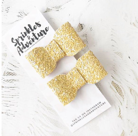 Sprinkles & Adventure Lulu Clip Gold Set