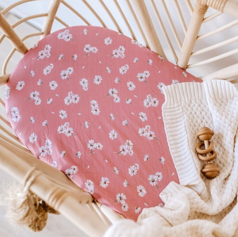 Daisy Bassinet Sheet | Change Cover