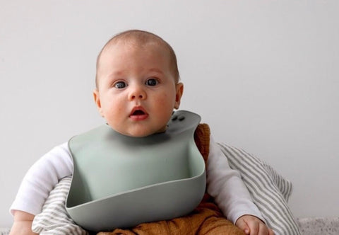 Dove and Dovelet Original Silicone Bibs