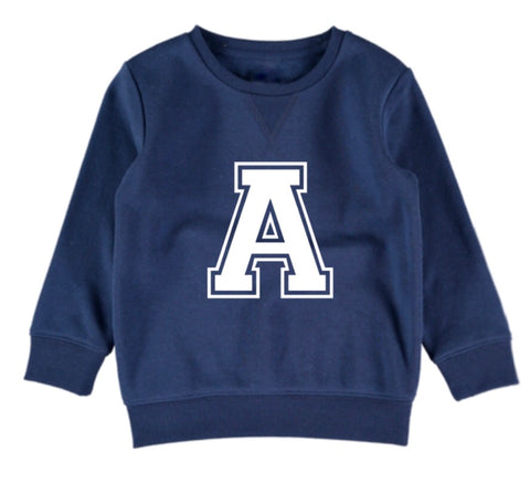 Personalised Varsity Jumper - Navy