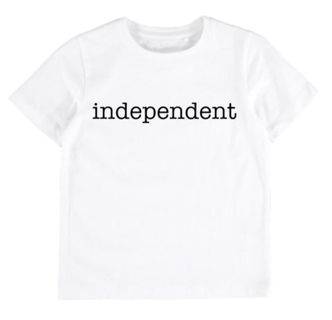 Independent Tee - White