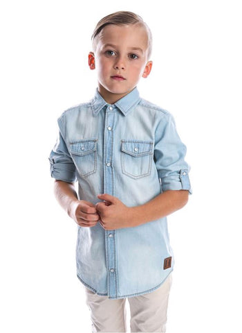 Beau Hudson Chambray Shirt