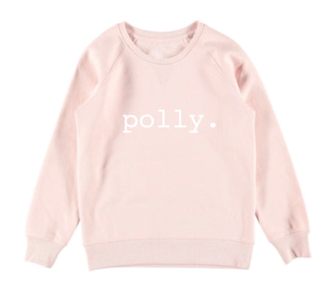Personalised Name Jumper - Pale Pink