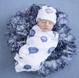Cloud Chaser Swaddle Sack and Beanie Set