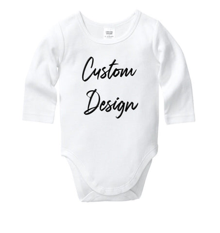 Customised Baby Onesie