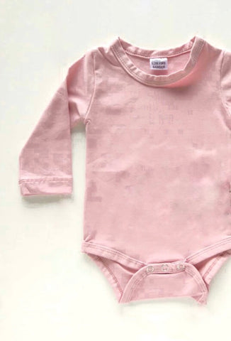 Dusty Pink Long Sleeve Onesie - BYCS Original