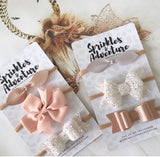 Sprinkles and Adventure Sugar Fairy Bow Set