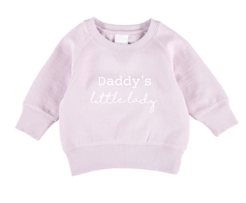 Daddy's Little Lady Jumper - Lavender