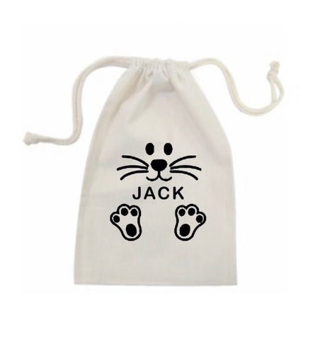 Personalised Name Easter Bag - Boys