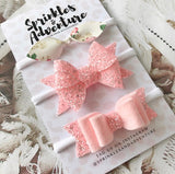 Sprinkles and Adventure Country Petal Bow Set