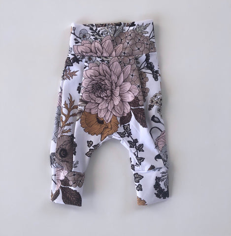 Earth Floral Day Harem Pants