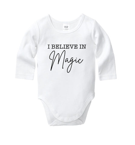 I Believe in Magic Onesie