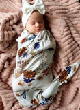 A Little Posy Pop Ya Tot - Organic Muslin Wrap