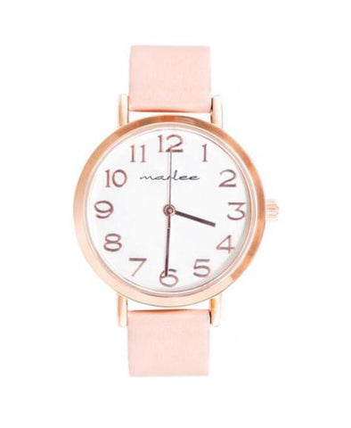 Marlee Watch Co Blush Contemporary Watch