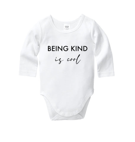 Being Kind Is Cool Onesie
