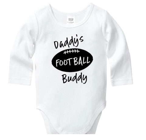 Daddy's Football Buddy Onesie