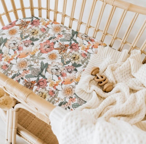 Australiana Bassinet Sheet | Change Cover