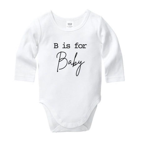 B is for Baby Onesie
