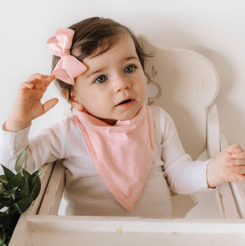 Soft Pink - Dribble Bib